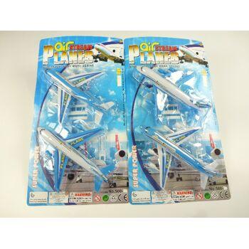 Jumbojets 2er Pack, 35 x 19 cm, Flugzeug Spielset