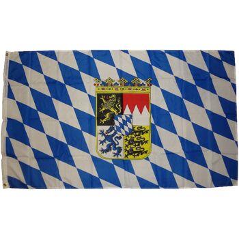 Flagge  Bayern Wappen  250 x 150 cm