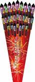 Rocket World 27 NICO-Raketen, Feuerwerk für Silvester