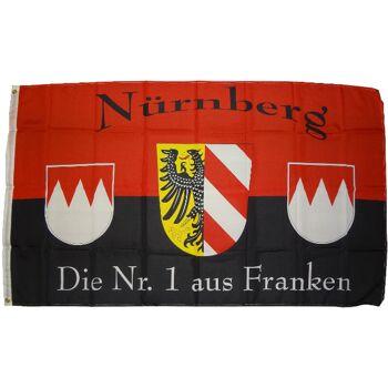 StadtFlagge  Nürnberg  90 x 150 cm