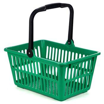 28-008878, Einkaufskorb grün mit Henkel, auch Strandkorb, Einkaufstasche, Strandtasche, usw+++++++