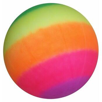 27-48788, Spielball 45 cm in Regenbogenfarben, Beachball, Fussball, Strandball, Wasserball