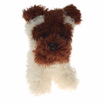 10-150130, Plüsch Terrier-Hund 18 cm, Plüschhund