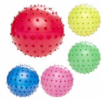 27-71412, Noppenball 15 cm, Igelball Stachelball, Massageball, Hundeball, Wasserball, Strandball, Beachball