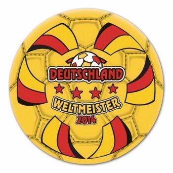 27-83275, Fußball Weltmeister Ball Deutschland 20 cm, Wasserball, Beachball, Spielball, Fussball, Strandball
