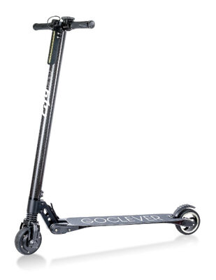 GoClever CITY RIDER 5 CARBON mit LG Akku Elektro Roller E-Scooter Electro Roller