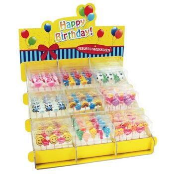 27-83254, HAPPY BIRTHDAY Geburtstagskerzen Set  5-teilig