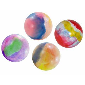 27-83270, Fussball multifarben 22 cm, Fußball, Beachball, Wasserball, Spielball, PVC Ball