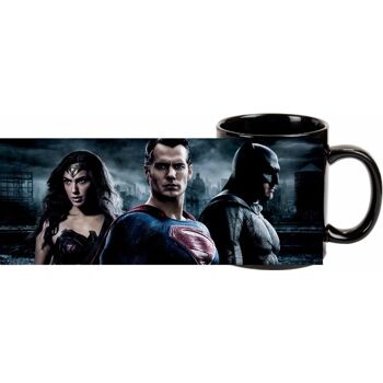 27-45402, Batman vs. Superman - Kaffeetasse 300ml 'Batman, Superman, Wonder Woman', Kaffeebecher, Kaffeepott