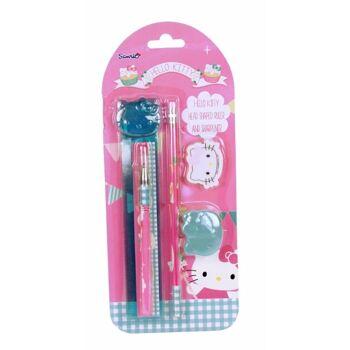 27-44404, Hello Kitty Schreibset 5teilig Premium Schreibset