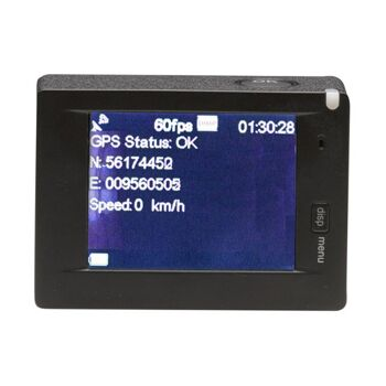 DENVER ACG-8050W 4K Action Cam mit GPS und WLAN