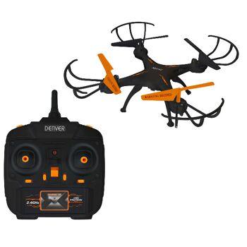 Denver DCH-261 Drohne ferngesteuert mit 0,3 MP Kamera und Gyro-Funktion