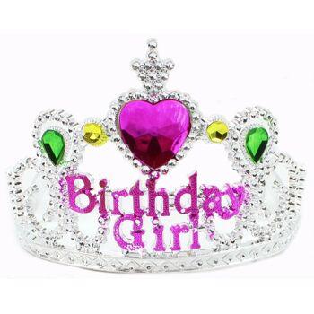 27-83276, Krone 'Birthday Girl', Party, Event, Geburtstag, Kinderfest, kinderparty, usw