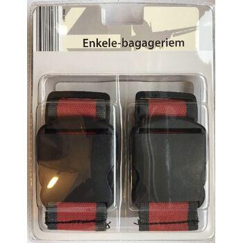 Kofferanhänger/Koffer-Zahlenschloss-Set /Koffergurt
