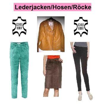 Lederjacken/Lederhosen/Lederröcke/8 Paletten
