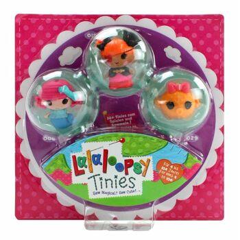 27-83304, MGA Lalaloopsy Tinies Minipuppe 3er Pack
