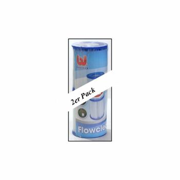 28-580941, Filter Kartusche II, 2er Pack für Pool, etc, Markenware