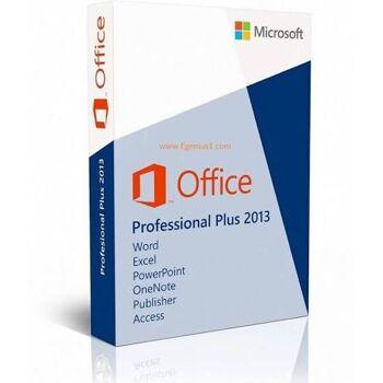 Microsoft Office Professional Plus 2013 MAK Key 50 User ESD Vollversion