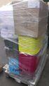 12-100999, Haushaltswaren Aktionspaletten OKT, ALLES NEUWARE, Wäschekorbe, Boxen, Wannen, Boxensets, Kinder- Babybedarf, usw