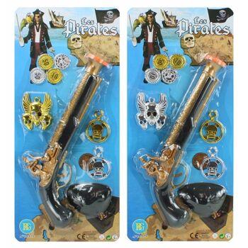 27-60371, Piratenpistole mit Zubehör, Piratenspielset, Piratenset