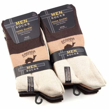 28-872201, Herren Socken 5er Pack, Gr. 39/42 -43/46, Socke ohne Gummibund, Venenfreundlich, Strümpfe