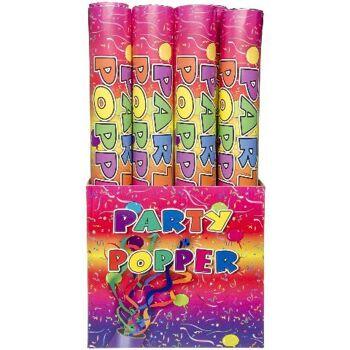 21-9359, Party Popper 80 cm, Konfetti Bombe, Partyknaller, Partypopper, Kostüm, Konfettibombe, Konfettishooter