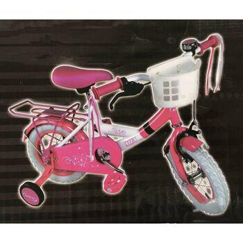 Mädchen Fahrrad - Kinderfahrrad mit Stützrädern von 12 bis 16  Zoll