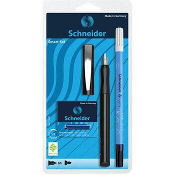 12-5074481, Schneider Schreibgeräte Schreibgeräteset Smart-Set, Füller Smart schwarz+++++++++