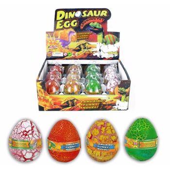 27-43296, Dinoei Dino wächst, Ei mit wachsendem Dino