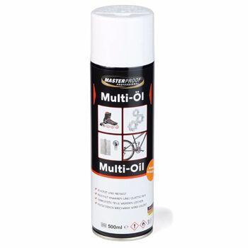 28-000484, Multisprühöl 500 ml, zum Reinigen, Schmieren, Pflegen, Rostvorbeugung, usw