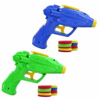27-60392, Pistole Scheibenabschießer 16 cm, mit 16 Scheiben