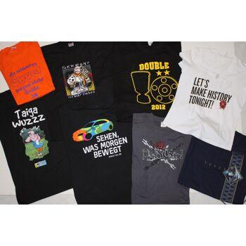 T-Shirt S M L Xl Xxl Fun Shirts mit Print aus allen Bereichen
