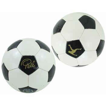 27-47463, Fußball 'Pele' handgenäht Fussball, Strandball, Wasserball
