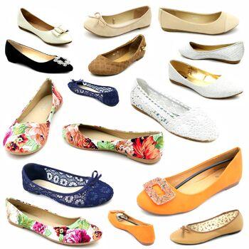 Damen Schuhe Ballerina Mix Gr. 36-41 ab je 3,50 EUR