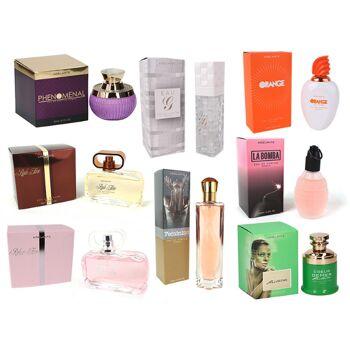 Parfüm Mixposten Eau de Toilette Damen Femme Spray Duft Parfum 80-100 ml - 1,99 Euro