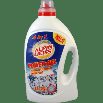 Waschmittel, Vollwaschmittel flüssigwaschmittel, Detergents, washing-up liquid detergents POWER GEL KONZENTRAT 31 = 52 Waschladungen