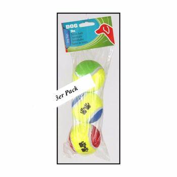 28-388038, Hundespielzeug Tennisbälle 3er Pack