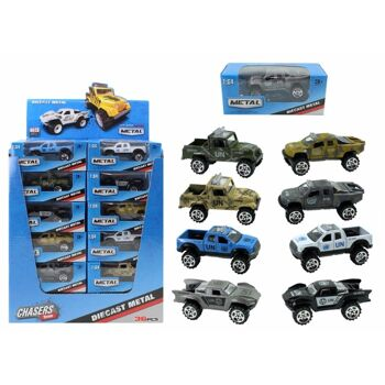 27-44473, Truck METALL, Monster Jeep