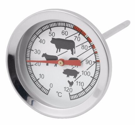 12-613400208, Grillthermometer, Bratenthermometer Exclusiv, Fleischthermometer