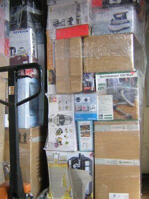 Discounter Sonderposten Paletten Mixpalette, Haushaltsware, Werkzeug, Küchengeräte Discounter usw.