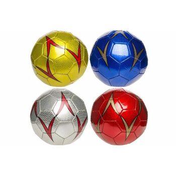 21-4804, Leder Fussball 22 cm, Fußball 330GR