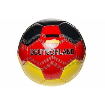 21-4838, Leder Fussball Deutschland, Gr. 5, GERMANY, Fußball, Lederball, Handball, Wasserball, Spielball