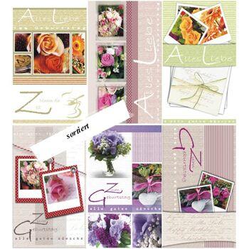 28-511781, Karten Geburtstag Blumen Geburtstagskarten Geschenkkarten, Glückwunschkarten