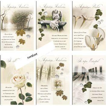 28-897007, Karten Trauer Trauerkarte