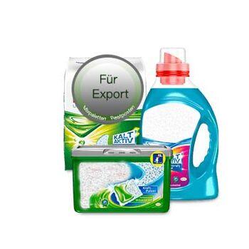 Waschmitel Markenware - Restposten / LKW / Container / Sonderposten / Palettenware / Export - Made in Germany - 1A Ware! Euro-1 Ware!