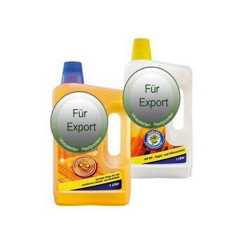 Parkettpflege / Haushilfe / Cleaner / laminat pfleger /  / NUR Export - deutscher Hersteller - Made in Germany - 1A Ware/  B Ware ! Euro-1 Ware!