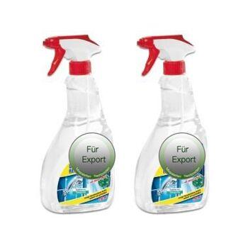 Duschkabinen reiniger / Cleaner Reiniger  /  / NUR Export - deutscher Hersteller - Made in Germany - 1A Ware/  B Ware ! Euro-1 Ware!