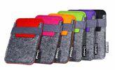 17-90820, Handytasche aus Filz, passend für iPhone 5