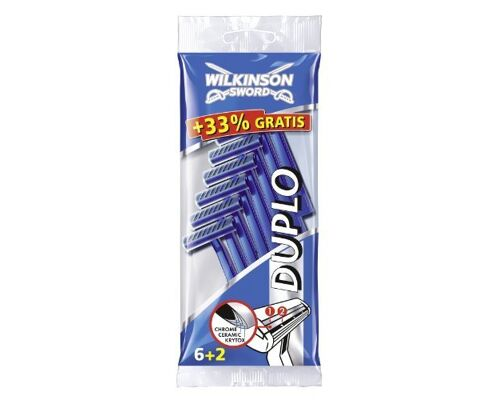 Einwegrasierer Duplo Wilkinson / rasierer / shave /  disposable razors  / deutscher Hersteller - Made in Germany - 1A Ware/  B Ware ! Euro-1 Ware!