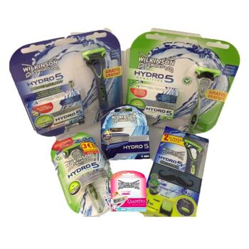 Einwegrasierer Duplo Wilkinson / rasierer / shave /  disposable razors  / deutscher Hersteller - Made in Germany - 1A Ware/  B Ware ! Euro-1 Ware!